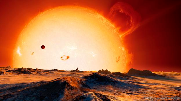 Mặt Trời mở rộng