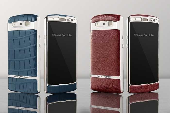 Bellperre Touch: Chiếc điện thoại này sử dụng da trâu cho nắp lưng của mình, thiết kế trông hầm hố và giá cũng không dưới 3.000 USD.