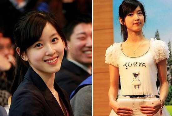 Với vẻ đẹp vô cùng trong sáng, giản dị, cô bạn xứng đáng với danh hiệu 'Hoa khôi giảng đường Trung Quốc'.