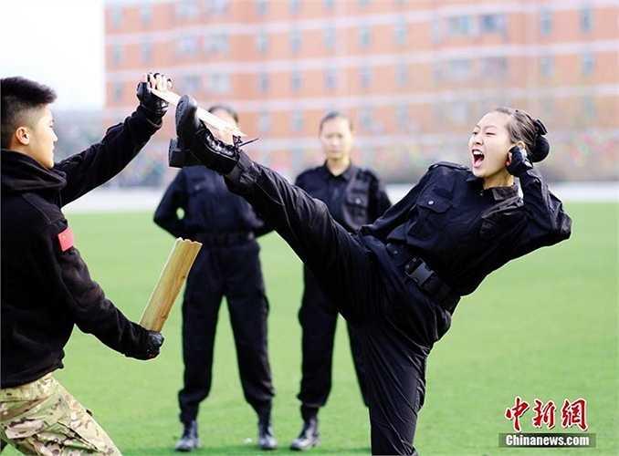 Bài tập sức công phá của nữ tiếp viên hàng không Trung Quốc trong tương lai
