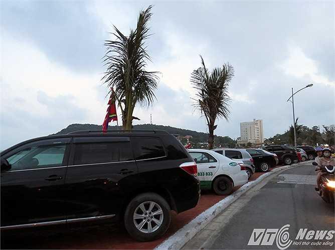 Trưng dụng làm bãi đỗ ô tô