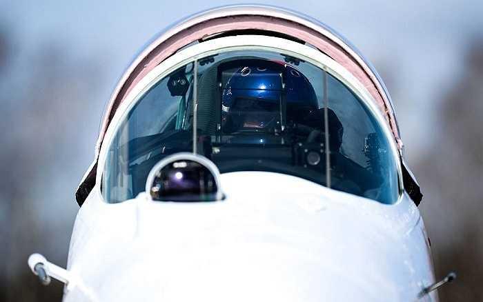 Máy bay tiêm kích MiG-29 của phi đội bay 'Chim yến' tại Kubinka