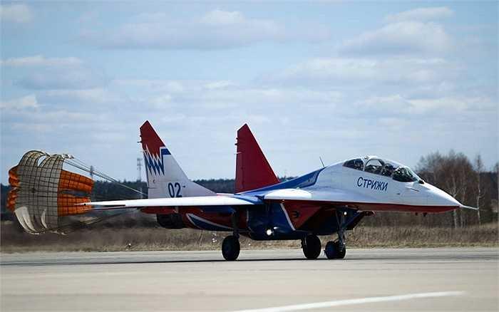 Cận cảnh chiếc MiG-29