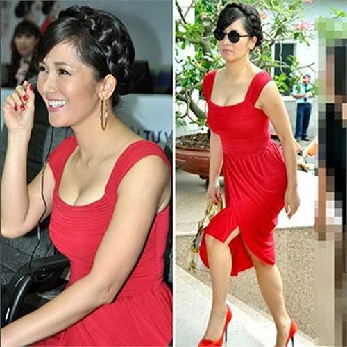 Một lần diện váy áo trễ nải làm giám khảo của Hồng Nhung.