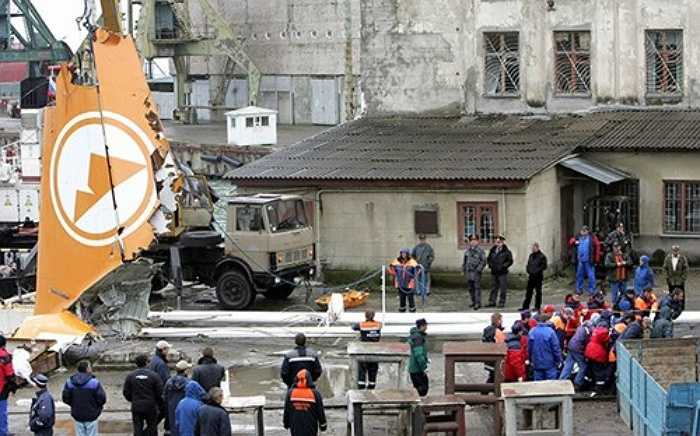 Tháng 5/2006: Máy bay của hãng hàng không Armavia (Mỹ) rơi tại Biển Đen khiến 113 người thiệt mạng.