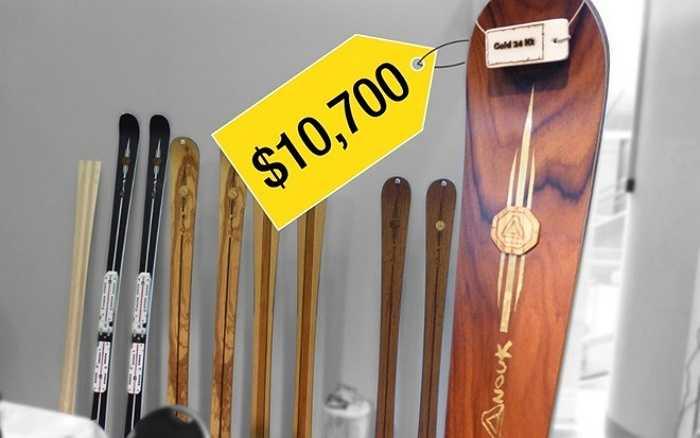5. Ván trượt tuyết bằng gỗ làm thủ công    Hai công ty mới tại châu Âu tung ra sản phẩm ván trượt tuyết bằng gỗ làm thủ công dành cho đối tượng khách hàng cao cấp.