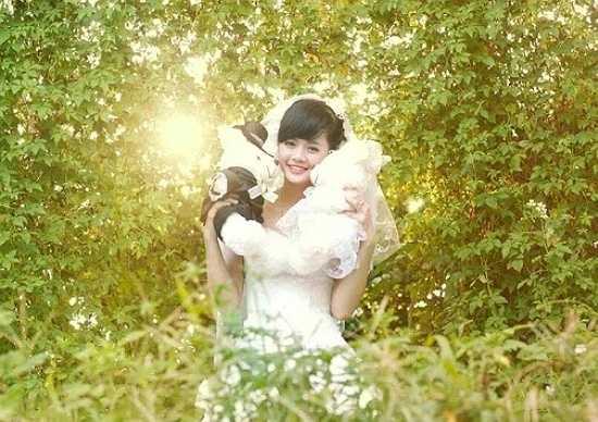 Ngoài công việc học tập, My Nguyễn còn tham gia chụp ảnh, làm mẫu ảnh cho các shop thời trang.