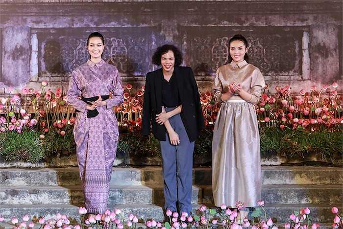 Cùng ngắm thêm những hình ảnh trong đêm Thời trang Hội tụ bản sắc Châu Á:
