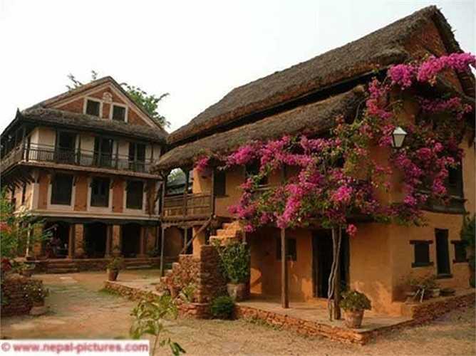 Nhà khách Famous House khá nổi tiếng ở Nepal. Nơi đây thu hút du khách bởi vẻ đẹp thanh bình, gần gũi với thiên nhiên.