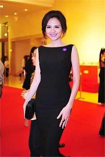 Hình ảnh của Diễm Hương trong một sự kiện gần đây.