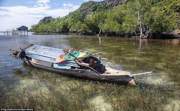Việc lặn sâu dưới nước trong thời gian dài khiến màng nhĩ của người Bajau bị tổn thương ngay từ khi còn nhỏ