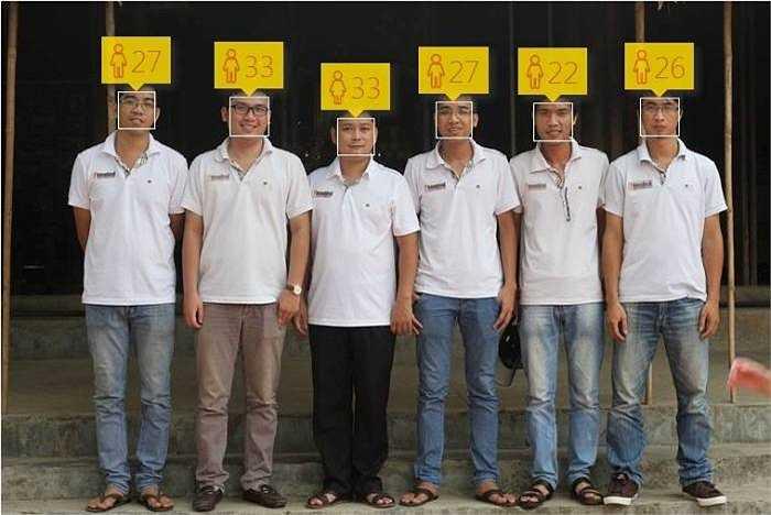 Trong một số trường hợp, trò chơi dự đoán tuổi khá chính xác (Ảnh: Hà Minh tổng hợp từ Facbook)