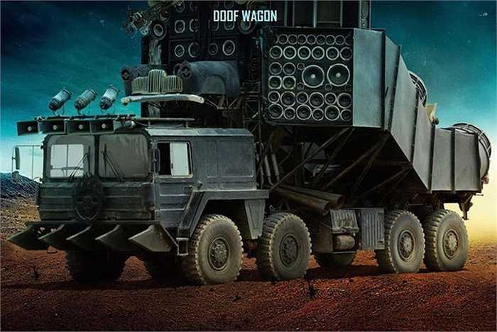 Lấy bối cảnh là một thế giới sau một trận đại thảm hoạ, những chiếc xe xuất hiện trong Mad Max không có vẻ ngoài bóng bẩy