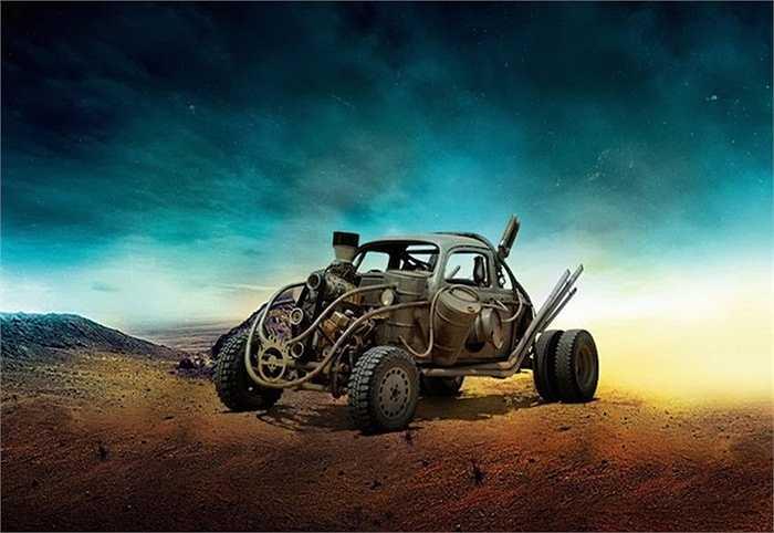 'Con bọ' Beetle của Volkswagen 'nát bươm' trong Mad Max