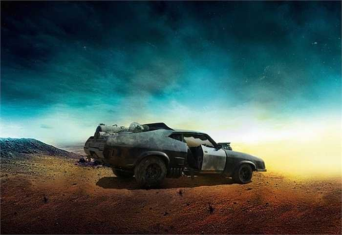 'Ngôi sao' của phim, chiếc Ford Falcon XB của nhân vật chính