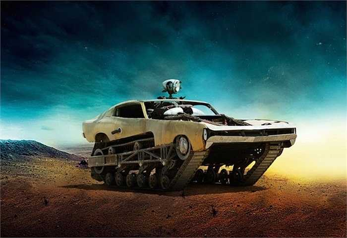 Chiếc Dodge Valiant nửa xe tăng, nửa xe hơi