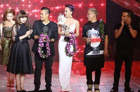 Dù được kỳ vọng sẽ giành ngôi Quán quân nhưng Tóc Tiên chỉ giành giải Đồng.