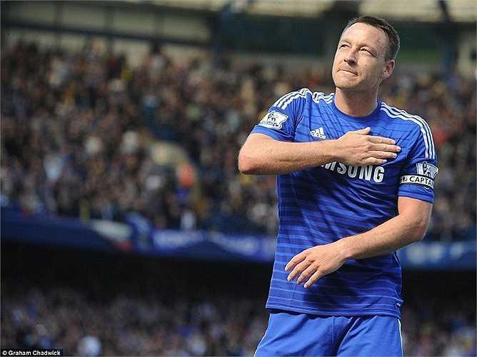 Đội trưởng Terry là hậu vệ ghi nhiều bàn thắng nhất lịch sử Ngoại hạng Anh. Nhiều lần ở mùa giải này, Terry đóng vai trò cứu cánh cho The Blues