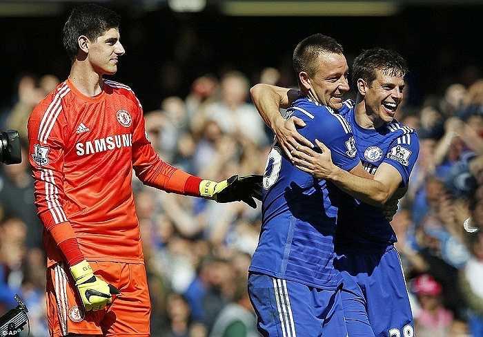 Chelsea là sự pha trộn hài hòa giữa sức trẻ và kinh nghiệm