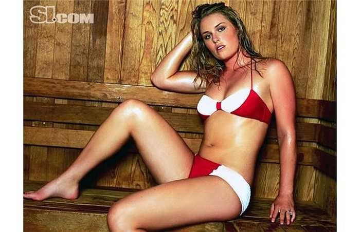 Với chiều cao 1m78, Lindsey Vonn có vóc dáng không kém gì các siêu mẫu