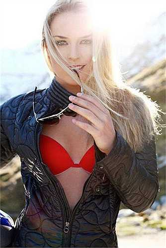 Lindsey Vonn là gương mặt quen thuộc của các buổi chụp hình quảng cáo
