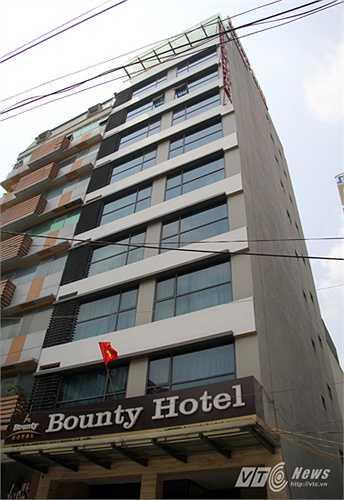 Đây là khác sạn Bounty nằm sâu trong một con ngõ trên đường Lê Đức Thọ.