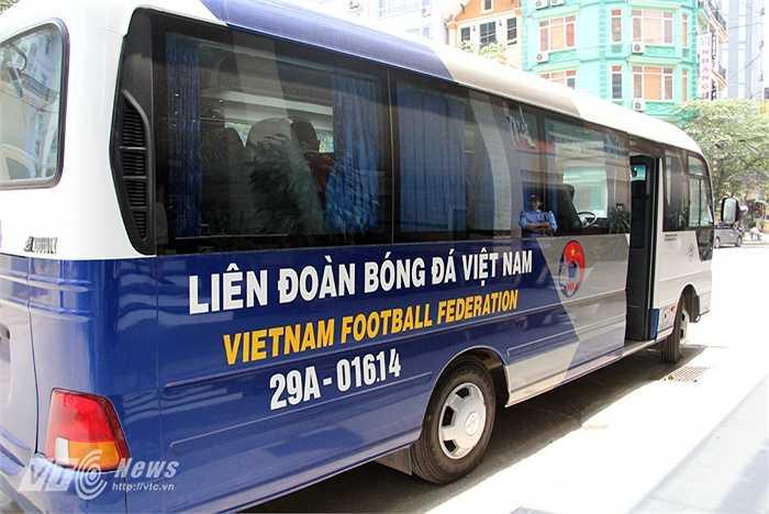 Đây có lẽ là lần hiếm hoi U23 Việt Nam được bố trí ở một nơi khá lạ.