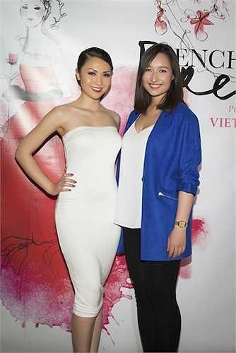 Tại đây, cô đã có dịp đọ sắc với nhiều 'chân dài' Việt, trong đó có Anna Trương, con gái diva Mỹ Linh.