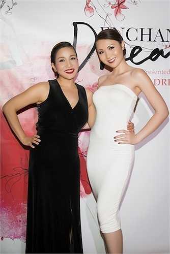 Mỹ Linh cũng có mặt với tư cách khách mời và ca sỹ biểu diễn.