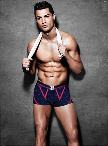 Nhiều người tỏ ra ngạc nhiên khi C. Ronaldo xếp cuối danh sách sao nam hấp dẫn phái đẹp khi chỉ có 2,2% phiếu bầu. Siêu sao Bồ Đào Nha và Neymar là hai chàng trai còn độc thân duy nhất trong danh sách (Nguồn: Ngôi sao)