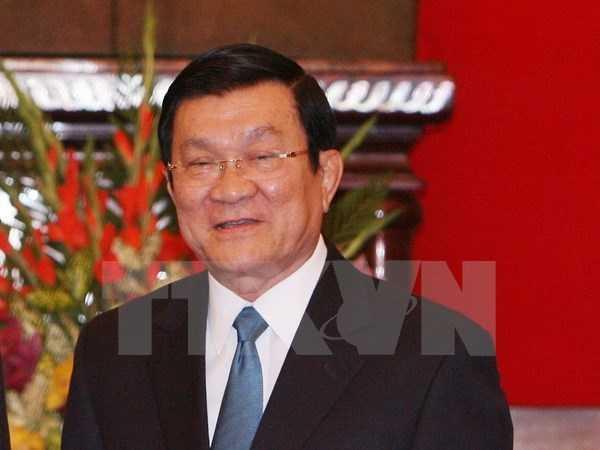 Chủ tịch nước Trương Tấn Sang - Ảnh: TTXVN