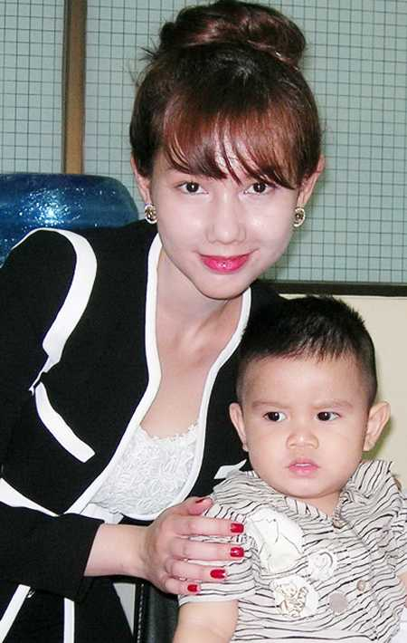 Vợ chồng Quỳnh Chi khi còn hạnh phúc.