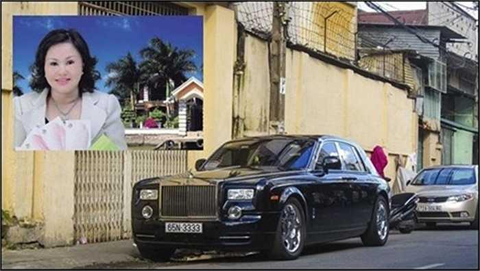 Mẹ chồng của Quỳnh Chi - nữ đại gia Diệu Hiền sở hữu chiếc Rolls Royce Phantom biển tứ quý 3, có giá tương đương 1,3 triệu USD.