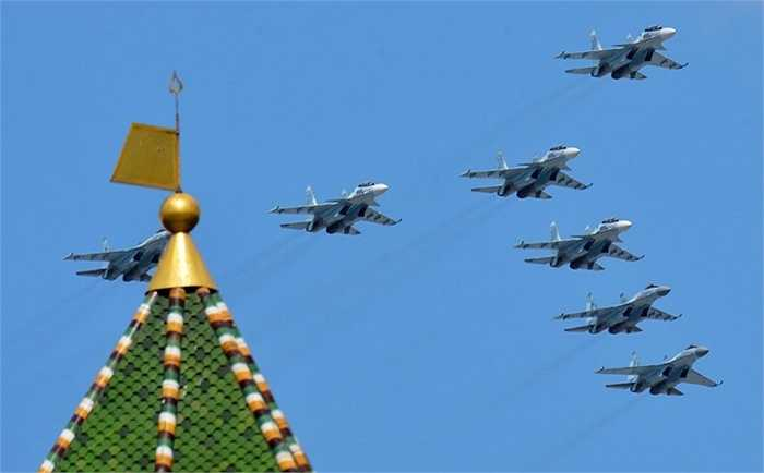 Các loại máy bay Su-30SM và Su-35S