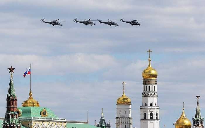 Trực thăng chiến đấu  Mi-35