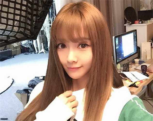 Hàn Vũ Giai nói cô dự định sẽ làm thêm với nghề người mẫu