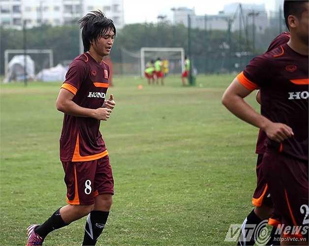 Tiền vệ Tuấn Anh (Ảnh: Quang Minh)