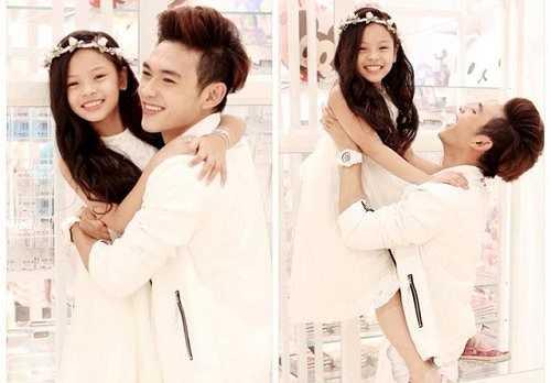 Mặc dù hơn kém nhau tới 11 tuổi nhưng khoảng cách tuổi tác không làm ảnh hưởng đến tình cảm anh em của anh trai Minh Tuấn và em gái Sunny Dương.