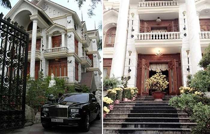 Không chỉ có vậy, mẹ chồng Quỳnh Chi còn sở hữu căn biệt thự hoành tráng ở Cần Thơ.