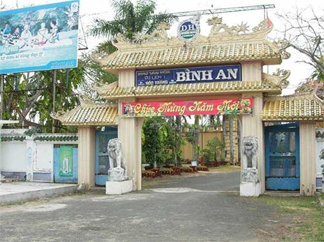 Bên cạnh những tư dinh hoành tráng, bà Diệu Hiền còn là chủ nhân của dự án bất động sản tiền tỉ. Trong đó có khu Văn hóa du lịch Bình An (Sóc Trăng) xây dựng trên khu đất rộng 10ha.