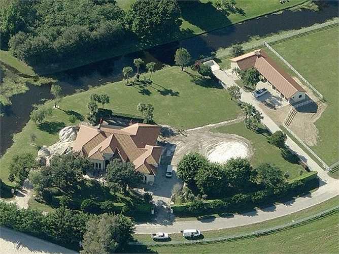 BillGates cũng sở hữu trang trại ngựa ở Florida được mua lại với giá 8,7 triệu USD