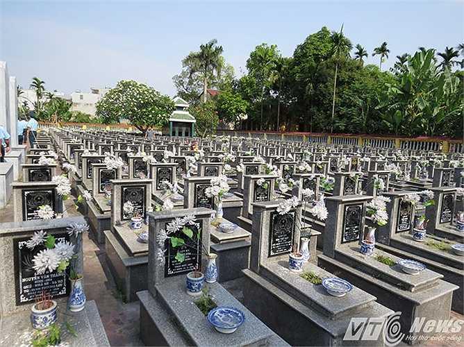 Thiếu tá Nguyễn Anh Tú về ngủ yên trong lòng đất mẹ cùng hàng ngàn cha anh đi trước đã hy sinh trong công cuộc đấu tranh giành độc lập dân tộc, thống nhất, xây dựng và bảo vệ Tổ quốc thân yêu.