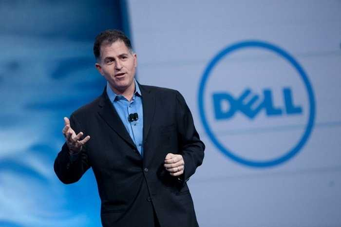 Michael Dell - tài sản 18,7 tỷ USD. Cựu sinh viên của Đại học Texas chưa hoàn thành việc học của mình và đã trở nên vô cùng thành công với hãng điện tử Dell nổi tiếng thế giới