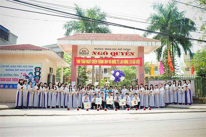 Nhằm lưu giữ những kỷ niệm đẹp dưới mái trường THPT Ngô Quyền (TP Nam Định), tập thể 12I đã lên kế hoạch thực hiện một bộ ảnh kỷ yếu độc đáo, ấn tượng