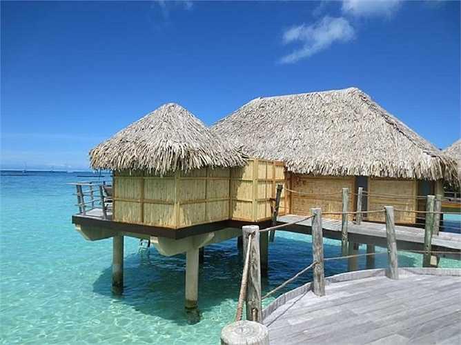 Cặp đôi diễn viên nổi tiếng Hollywood, Ashton Kutcher và Mila Kunis từng đến đây nghỉ dưỡng hồi năm ngoái.