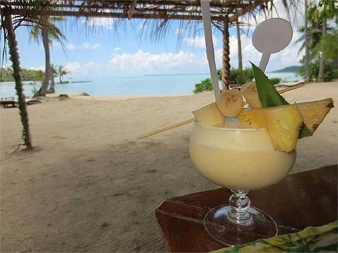 Món đồ uống mang đậm hơi thở nhiệt đới sẵn sàng giải nhiệt mùa hè.
