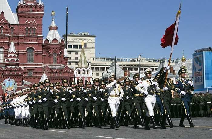 Đội hình lực lượng vũ trang Trung Quốc