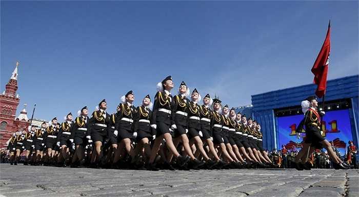 Nữ quân nhân Nga