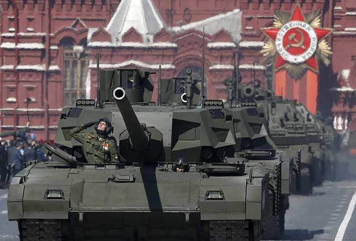 Xe tăng T-14 Armata
