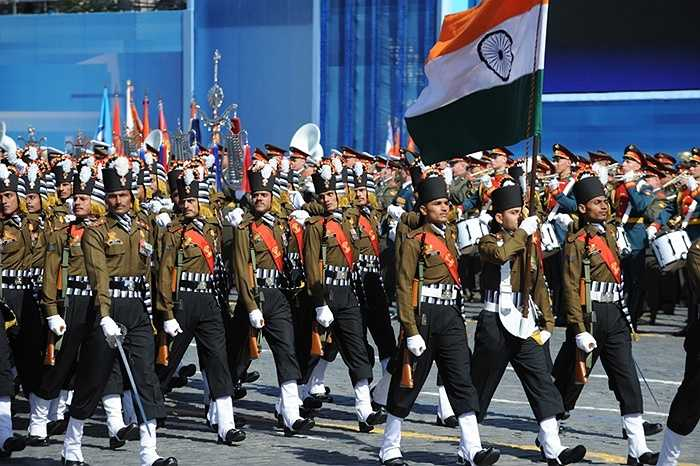Đội hình lực lượng Ấn Độ